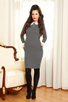 Fekete Fofy Lady Style Ruha