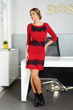 Piros LaDonna Lovely Style Ruha