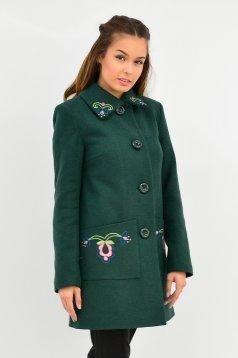Zöld LaDonna Fabulous Winter Nagykabát