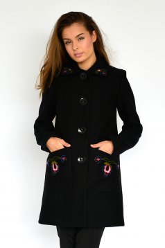 Fekete LaDonna Fabulous Winter Nagykabát