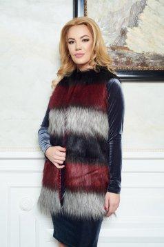 Fekete LaDonna Winter Design Mellény