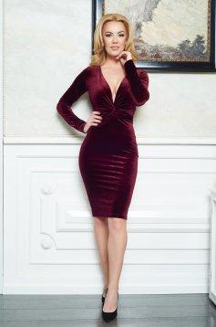 Burgundy LaDonna Divine Velvet Ruha