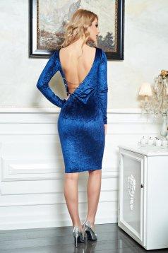 Kék PrettyGirl Smokey Trend Ruha