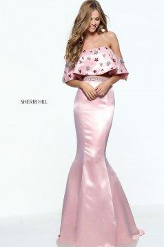 Rózsaszínű Sherri Hill 51054 Ruha