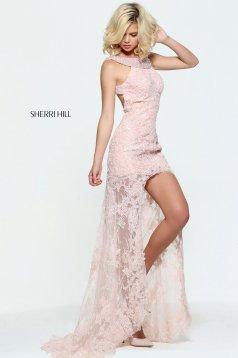 Rózsaszínű Sherri Hill 51057 Ruha