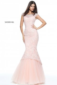 Rózsaszínű Sherri Hill 51114 Ruha