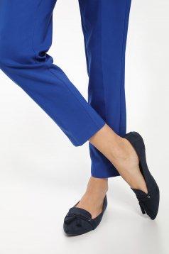 Kék Top Secret bojtos cipő enyhén hegyes orral