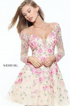 Bézs Sherri Hill 50913 Ruha