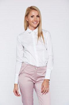 Fehér Top Secret hosszú ujjú női ing