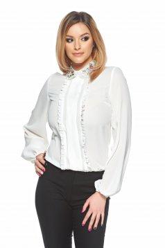 Fehér LaDonna Beautiful Style Blúz
