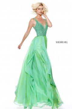 Zöld Sherri Hill 50801 Ruha