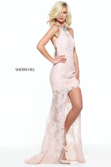 Rózsaszínű Sherri Hill 51058 Ruha