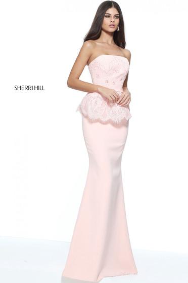 Rózsaszínű Sherri Hill 51213 Ruha