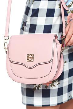 Rózsaszínű Glam Bőr Táska
