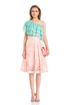 Rózsaszínű Trendy Woman Szoknya