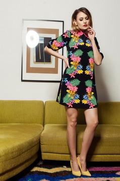 Fekete PrettyGirl Colorful Spring Ruha