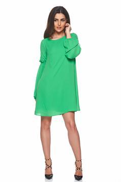 Zöld PrettyGirl lenge anyag ruha