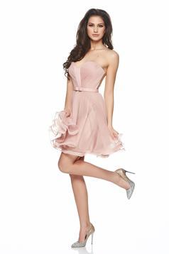 Rózsaszínű Perfect Style Ruha