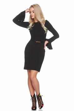 Fekete StarShinerS ruha harang ujjakkal tartozékkal