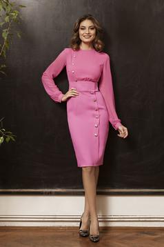 Pink PrettyGirl Office Desire Ruha