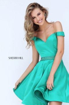 Zöld Sherri Hill 50815 Ruha