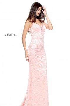 Rózsaszínű Sherri Hill 51106 Ruha