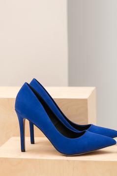 Kék Top Secret cipő enyhén hegyes orral