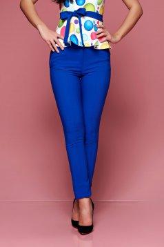 Kék Fofy irodai kónikus nadrág