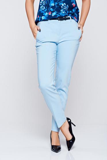Kék Top Secret kónikus pamutból készült nadrág