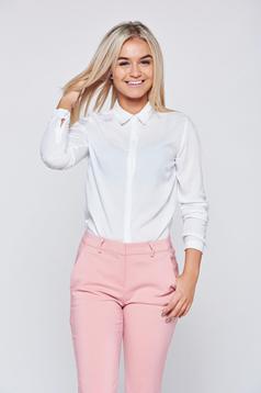 Fehér Top Secret irodai női ing