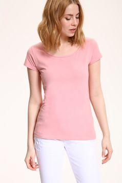 Pink Top Secret pamutból készült rövid ujjú póló