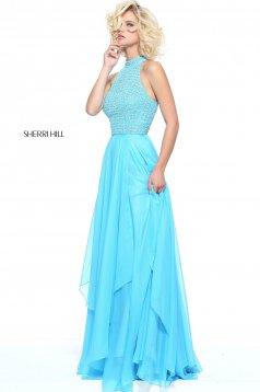 Kék Sherri Hill 50808 Ruha