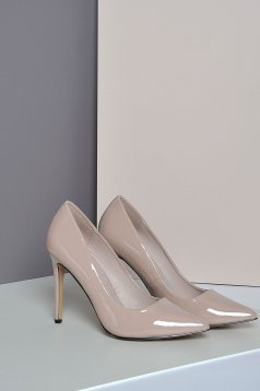 Rózsaszínű Top Secret cipő magassarkú enyhén hegyes orral