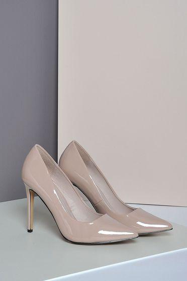 Rózsaszínű Top Secret stiletto magassarkú cipő elegáns műbőr