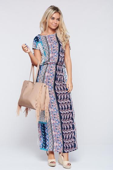 Pink Top Secret ruha hétköznapi nyomtatott mintával lenge anyagból