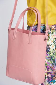 Rózsaszínű Top Secret hétköznapi táska közepes hosszuságú fülekkel