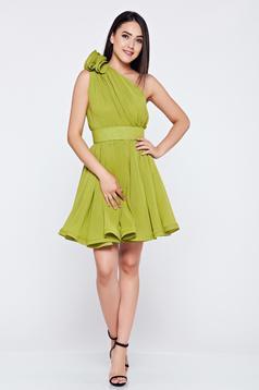 Sötétzöld Ana Radu ruha