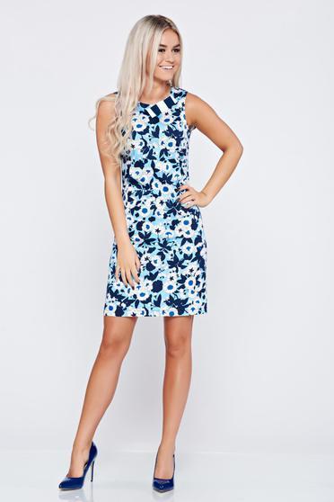 Kék LaDonna pamutból készült ujjatlan ruha