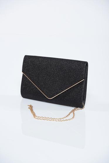 dcf882cae3ad Fekete táska csillogó díszítések