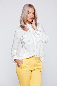 Fehér Top Secret női ing lenge anyagból