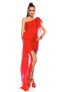 Piros Ana Radu ruha alkalmi rövid ceruza