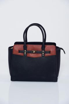 Fekete táska irodai hosszú, állítható pánt