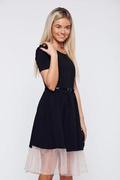 Fekete PrettyGirl elegáns harangruha