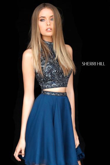 Fekete Sherri Hill 51296 Ruha