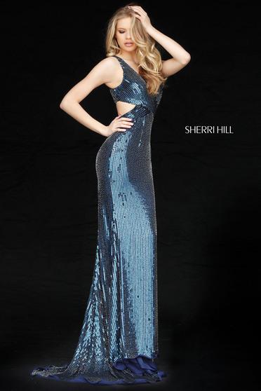 Kék Sherri Hill 51364 Ruha