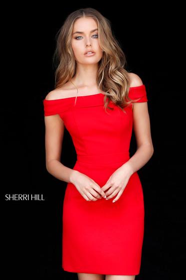 Piros Sherri Hill 51423 Ruha