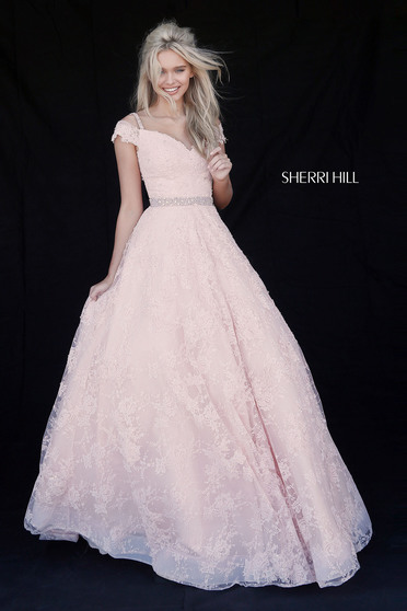 Sherri Hill 51451 Blush Ruha