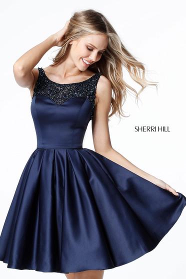 Sherri Hill 51524 Navy Ruha