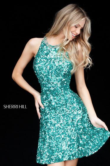Zöld Sherri Hill 51431 Ruha