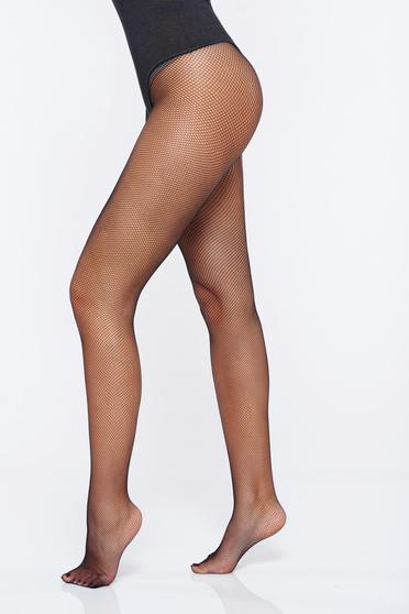 Fekete női harisnyanadrág háló típus rugalmas anyag
